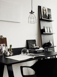 black-and-white-desk-fashion-styling