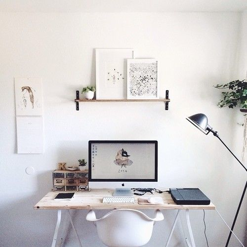 Minimal Home Decor Blog: DESKSIDE STYLING TIPS FOR YOUR WORKSPACE