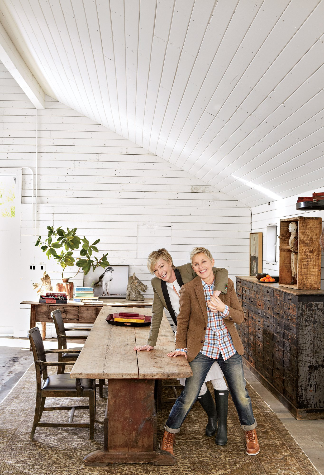We Re All Invited Home With Ellen Degeneres Design Twins Blog