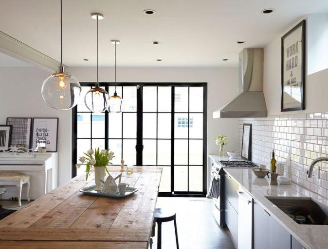 kitchen lighting trend. Pendant-lighting-new-kitchen-trend Kitchen Lighting Trend