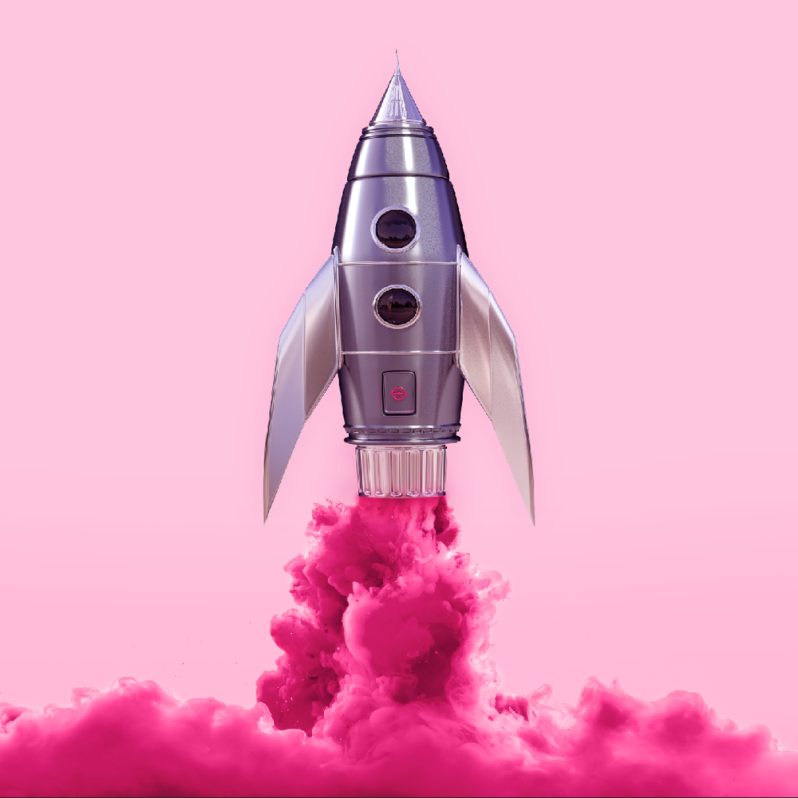 paul-fuentes-pop-art-pink-shuttle