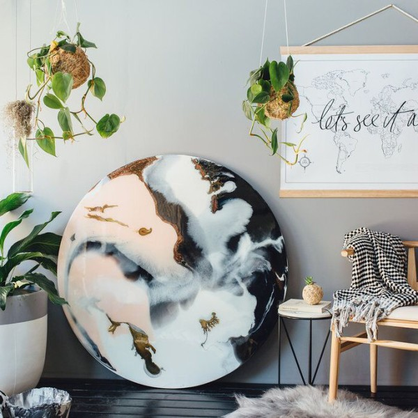 Wanderlust Interior Style Design World Map Axel And Ash