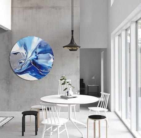 bec-tarrant-blue-resin-artwork