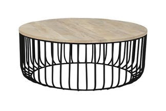 GlobeWest Flinders Slat Coffee Table